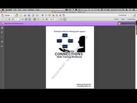DBT Peer Connections DEAR MAN GIVE FAST video Lesson by Rachel Gill