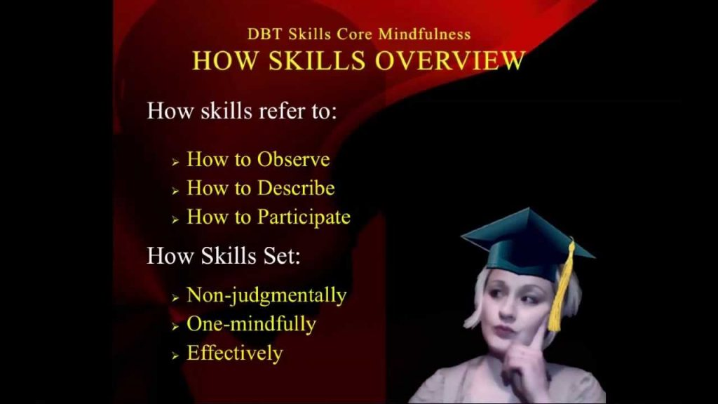 DBT Peer Connections: Episode 1d - Core Mindfulness Skills - by Rachel Gill