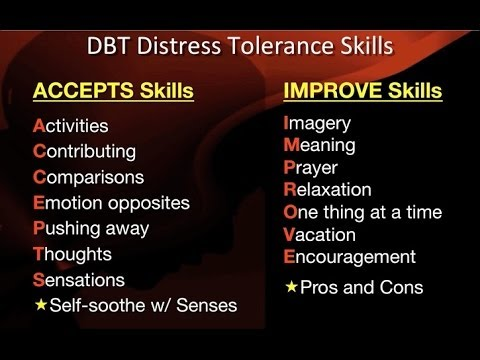 DBT Peer Connections - Episode 3b - Distress Tolerance Skills by Rachel Gill
