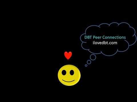 DBT Peer Connections Logo