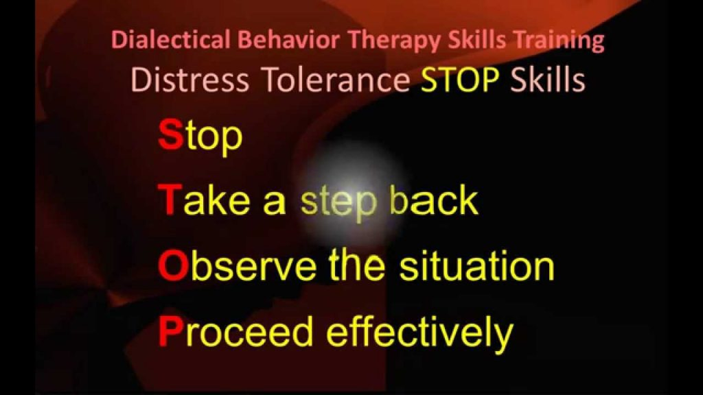 Distress Tolerance STOP Skills - Ep 3a - DBT Peer Connections