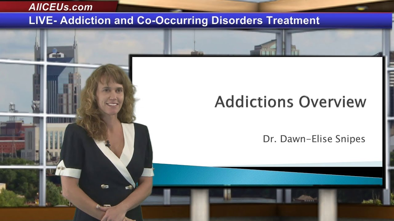 Addicton and Co-Occuring Disorder Treatment for LPC, LMHC,and Addiction Counselor CEUs | Counseling
