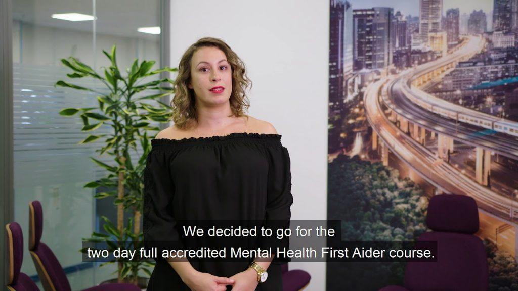 Mental Health First Aid at work - Siemens