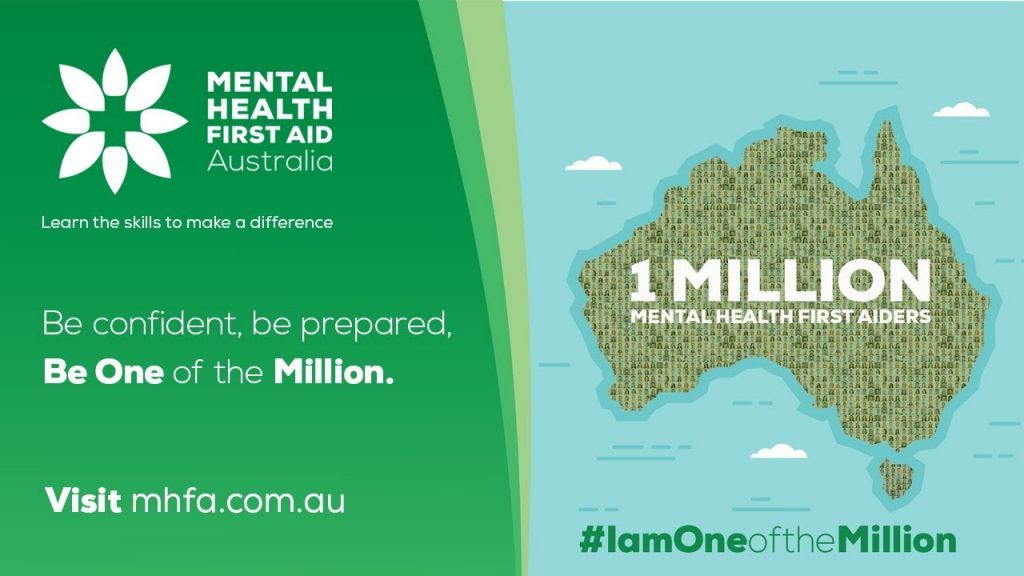 Mental Health First Aid - Be One of the Million