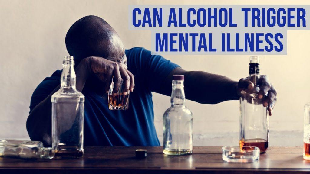 Can alcohol trigger mental illness?  #AlcoholAndMentalHealth