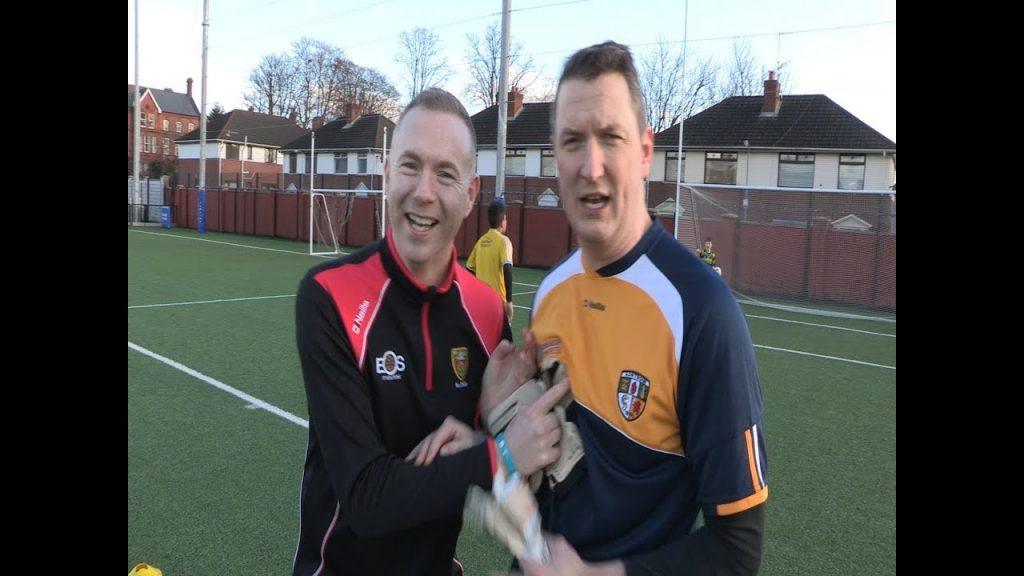Finucane (Antrim) v's Hazzard (Down) penalty shootout in aid of mental health