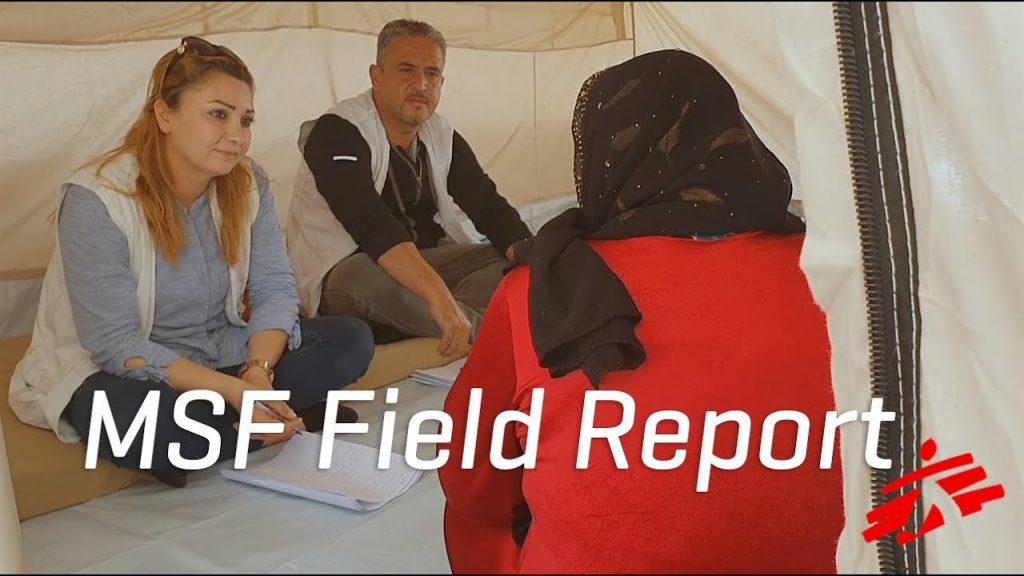 Iraq: Mental Health Support for Kurdish Refugees Fleeing Syria