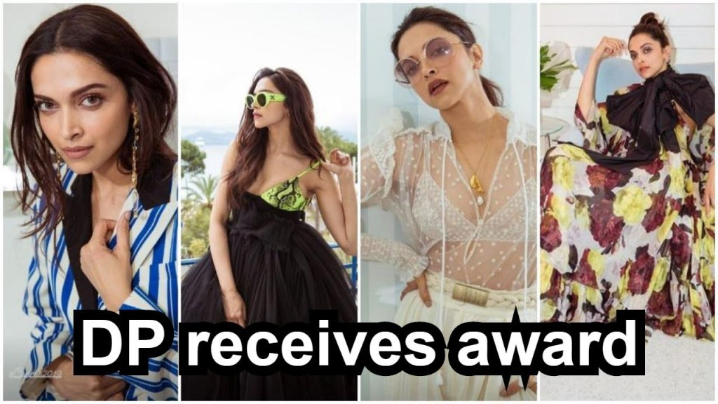 Deepika Padukone receives Crystal Award for spreading mental health awareness
