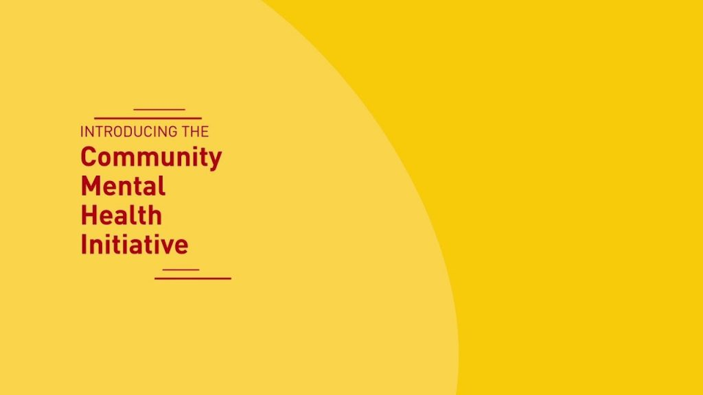 CBM Launches Community Mental Health Initiative