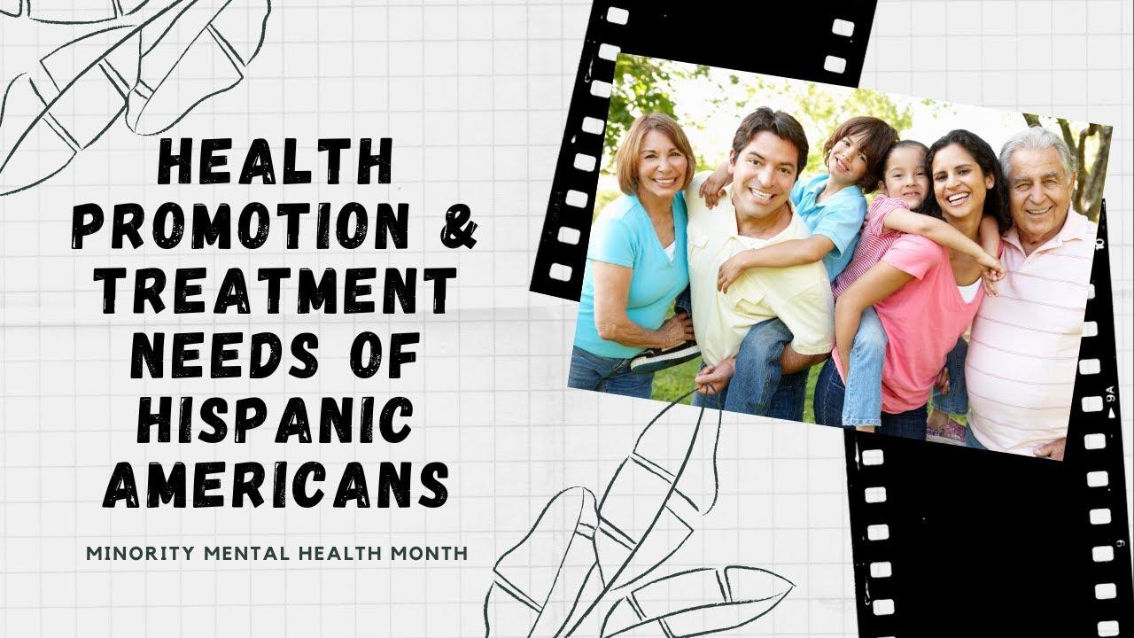 Enhancing Mental Health for Hispanic and Latino/Latina/Latinx Persons