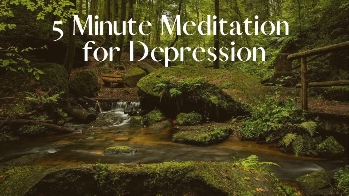 Depression Meditation with Dr. Dawn-Elise Snipes