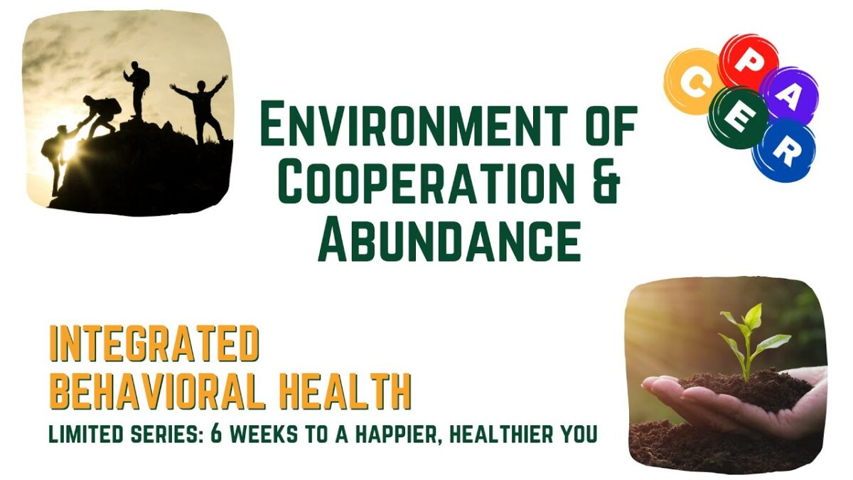 Creating Environments of Abundance & Cooperation | 6 Weeks to a Happier You Quickstart Guide