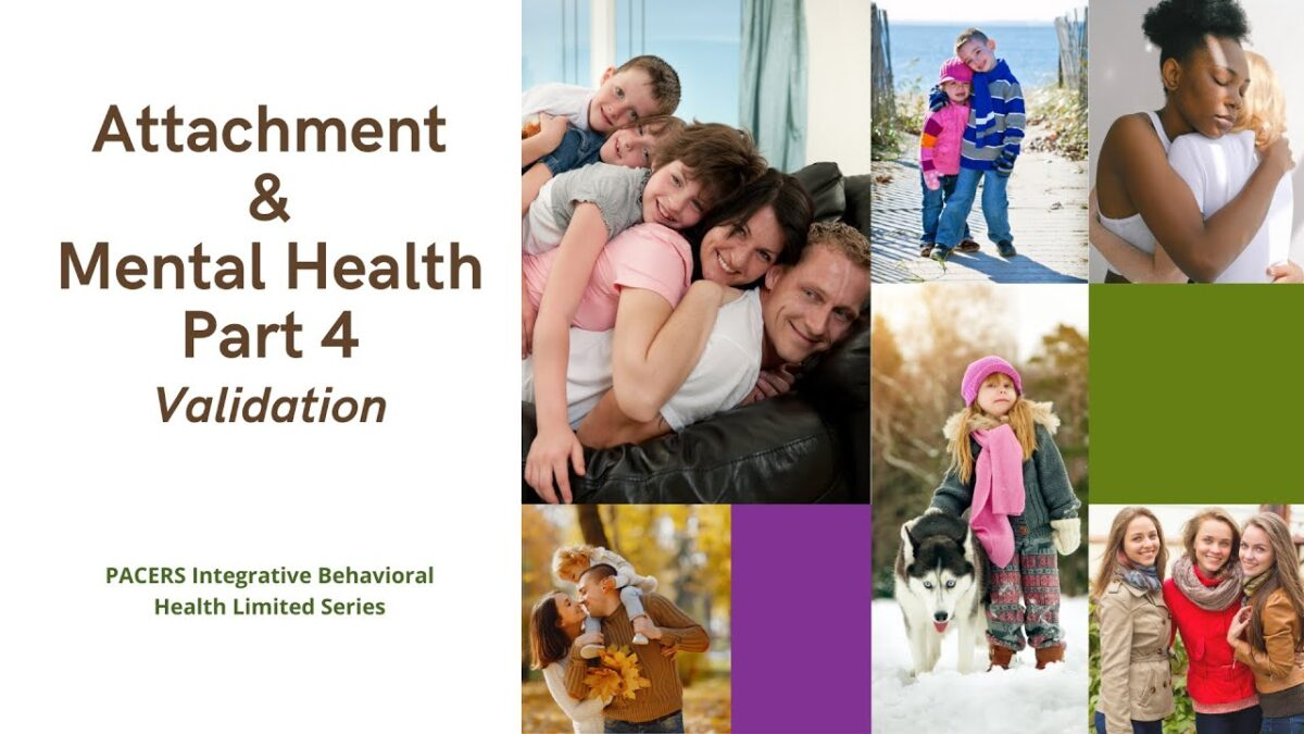 Attachment and Mental Health Part 4 Validation