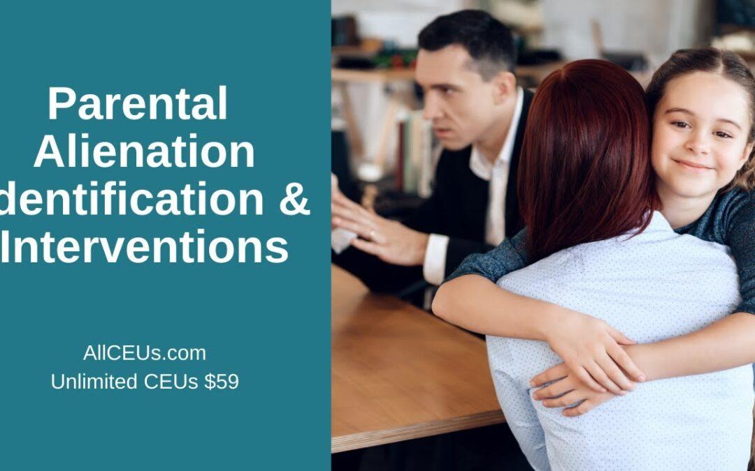 Parental Alienation and ACEs (Adverse Childhood Experiences)