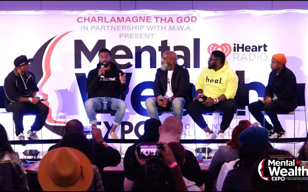 """Black Men & Mental Health"" Featuring Charlamagne, Ryan Mundy, Jason Wilson, Jay Barnett + Maxwell"