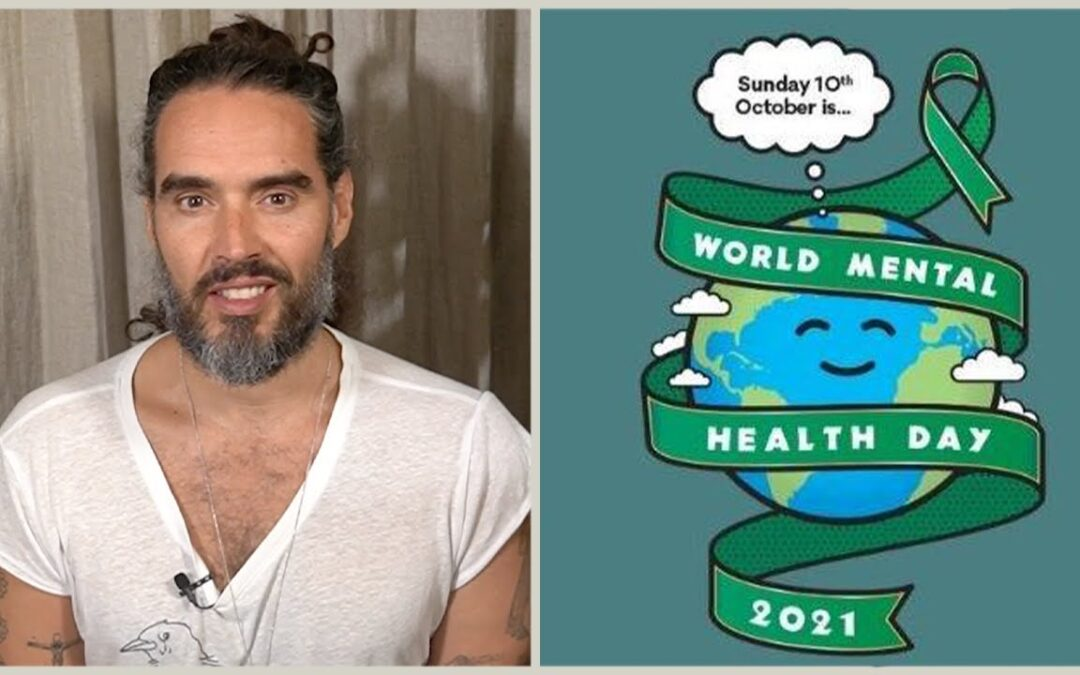 Meditate With Russell Brand on World Mental Health Day